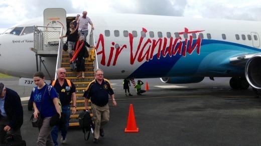 Tourists and investors land in Vanuatu