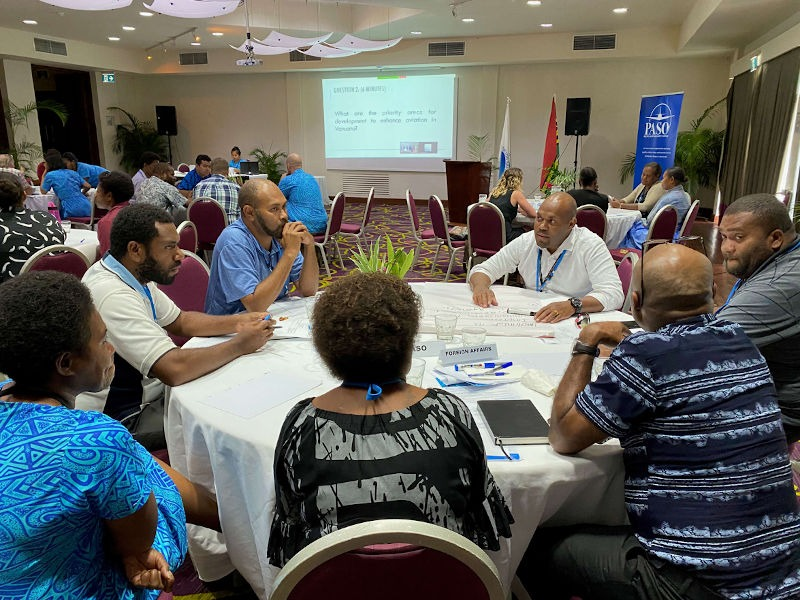 Vanuatu Aviation Industry Workshop Forges New Strategic Pathway with PASO