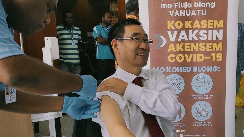 Chinese Ambassador To Vanuatu