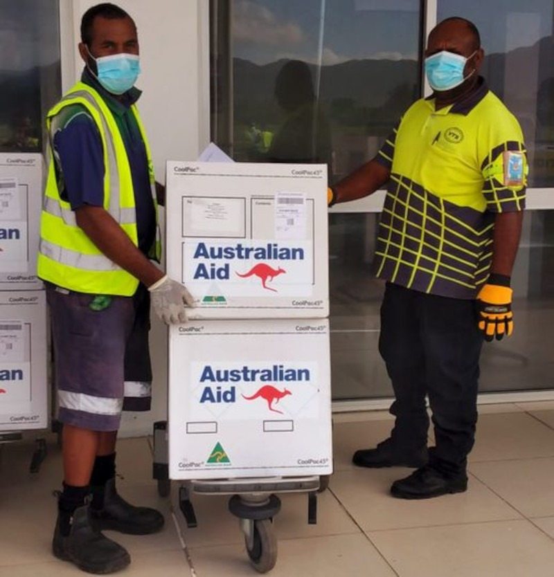 Vanuatu Receives the third batch of covid-19 vaccinations from Australia